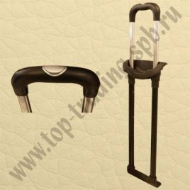 Стойки в разобран. виде к тележке G4388-2  24  блек никель(2 мет. стойки+1 пл. ручка+3 пл. держат.)