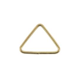 Полукольцо 40мм брасс треуг