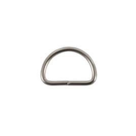 Полукольцо 25мм ник 2,5 мм