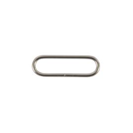 Кольцо овальное 38-39мм никель 2,5мм