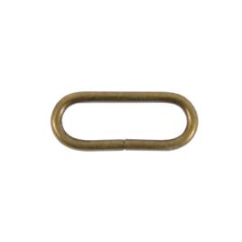 Кольцо овальное 30мм антик 2,8мм