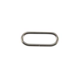 Кольцо овальное 30-31 мм никель 2,5мм