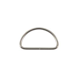 Полукольцо 30-31мм никель 2,5мм