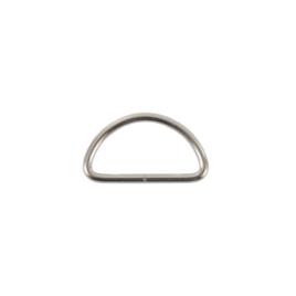 Полукольцо 30мм никель 2,8мм