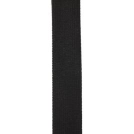 Лента эластичная черная 20 мм (Р)