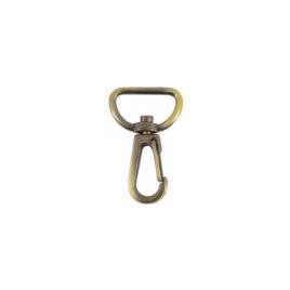 Карабин К 3721С 20мм (7553) антик полир