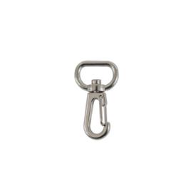 Карабин К 3721 16мм (109+337) никель роллинг