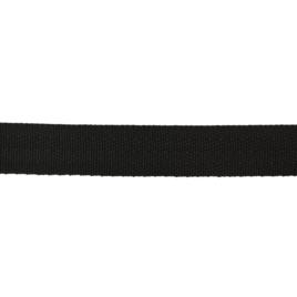 Лента тканная 22мм елочка-4 322 черн 11