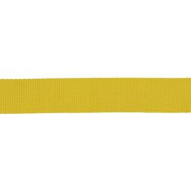 Лента тканная 25мм 110 лимон 14