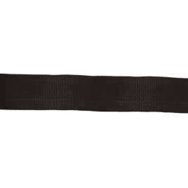 Лента тканная 450Д 22мм 322 черн 4