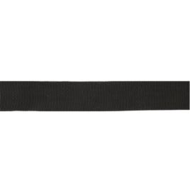 Лента тканная 450Д 22мм 322 черн 5,6