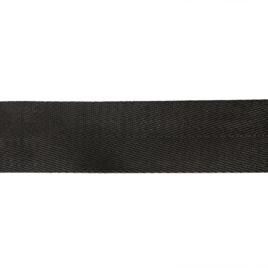 Лента тканная 38мм елочка-2 322 черн 42