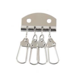 Ключница A 022 ник (4 ключа)