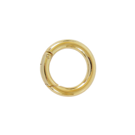 Кольцо разъемное О 058 внутр.d=26мм (2339) светлое золото полир