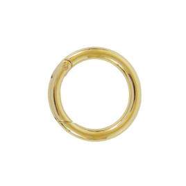 Кольцо разъемное О 058 внутр.d=34 мм (2229) светлое золото полир