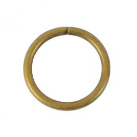 Кольцо №3 разъемн 3,8/31,4/39мм антик роллинг