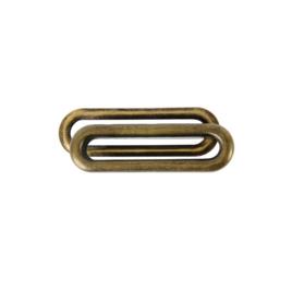 Люверс овальный 40мм антик роллинг
