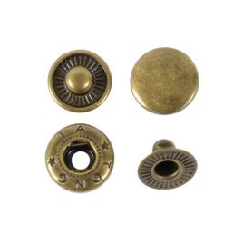 Кнопка галант 10мм антик роллинг