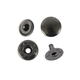 Кнопка галант 10мм блек никель роллинг
