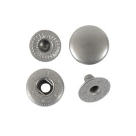 Кнопка галант 12,5мм мат/ник роллинг
