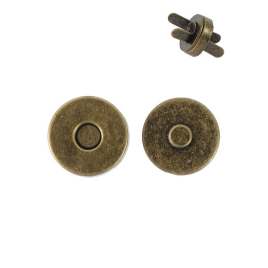 Магн,кнопка 14мм антик роллинг