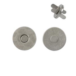 Магн,кнопка 14мм плоская мат/ник роллинг