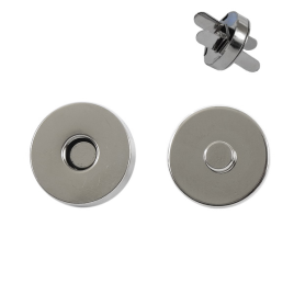 Магн,кнопка 18мм никель роллинг