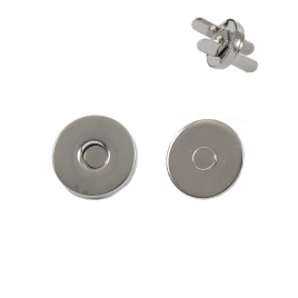 Магн,кнопка №16 10мм никель роллинг