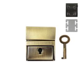 Замок SX162 (С 038 Z) антик полир