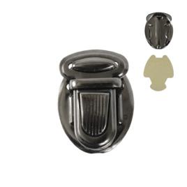 Застежка КА 0040 В бл.никель роллинг