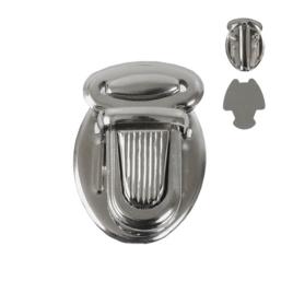 Застежка КА 0040 В никель роллинг