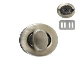 Застежка поворотная PX039 антик (7621)