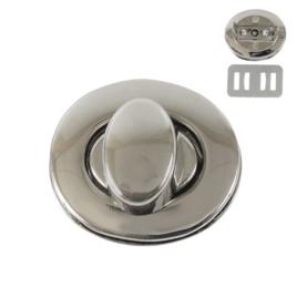 Застежка поворотная PX039 никель полир (7621)