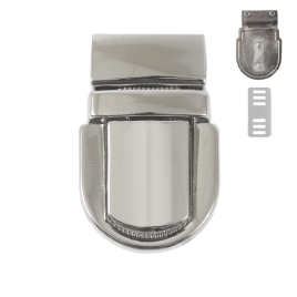 Застежка SX117 (С 022 Z) никель полир
