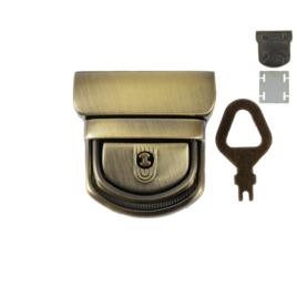 Замок КА 0554 А (С 081 Z) антик полир