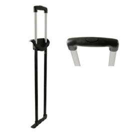 Стойки для чемоданов в сборе GB4428-2 28 матовый  никель
