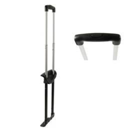 Стойки для чемоданов в сборе GB4428-3 20  матовый никель