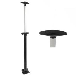 Стойки д/чемодана  в сборе 49Е - 2  22'' мат/никель(№107)