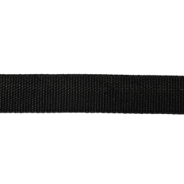 Лента ременная черная 25 мм 12,8 гр (Р)