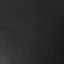 PU с кожаной  основой T1629-LR 1 чёрный