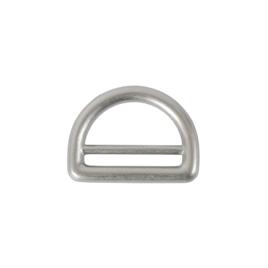 Полукольцо 25мм PD 008 мат/ник (литое)