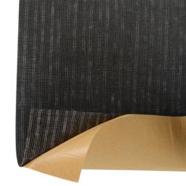 ПВХ покрытый тканью с двух сторон с одностор. клейк. слоем SWZ-06A черный
