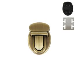 Застежка C 964-1 антик полир