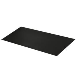 Пластик 1 мм 700*1500 мм черн (L)