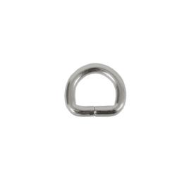 Полукольцо 20х13мм (4мм) никель роллинг