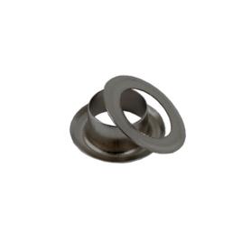 Люверс круглый 8/13,8 мм блек ник роллинг