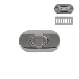 Застежка поворотная 3455 (С547 Z) никель полир