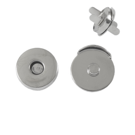 Магн,кнопка КД 0878 никель роллинг