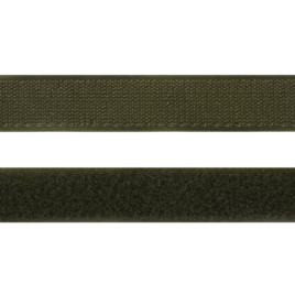 Велькро  25 мм 327 хаки нейлон