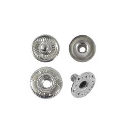 Кнопка галант 10мм никель роллинг без лицевой части